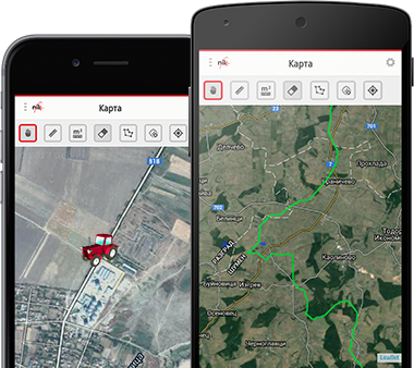 Real-time Location Tracking of Field Machinery