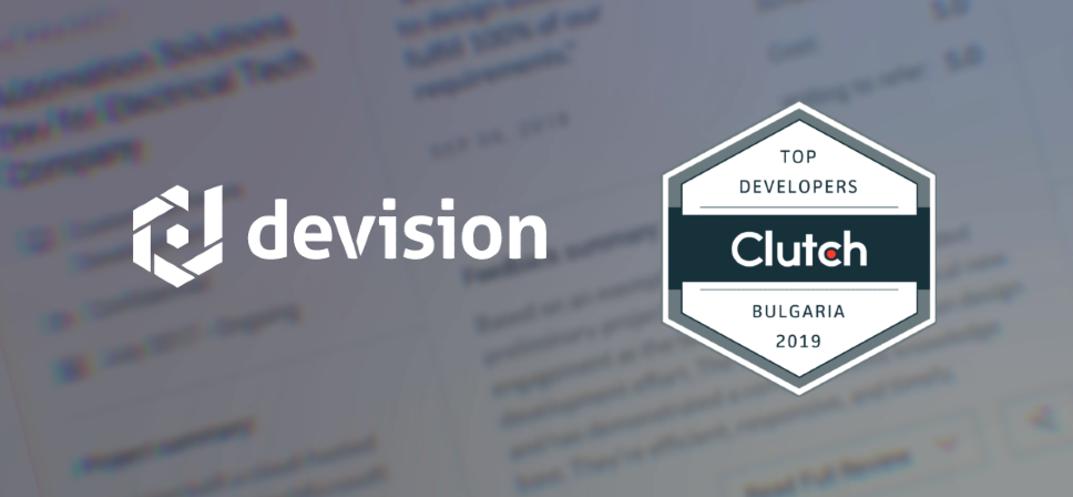 Top Software Developers Award by Clutch